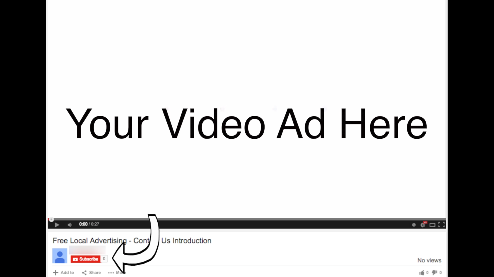 how to change your youtube ad in your videos