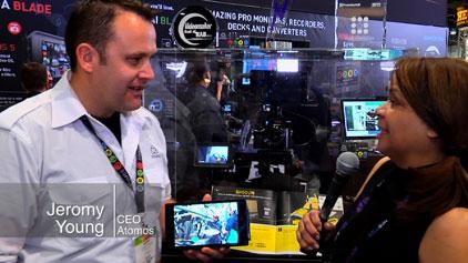 Atomos 4K Shogun recorder/monitor